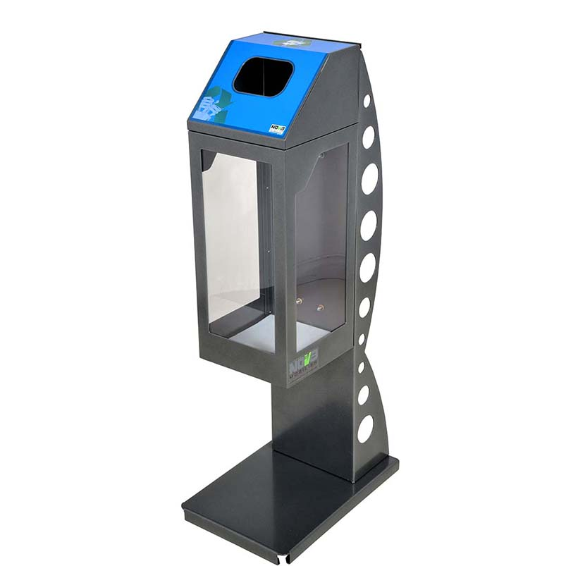 Collecteur d'ampoules fluocompactes CP30L-F par Nova Mobilier